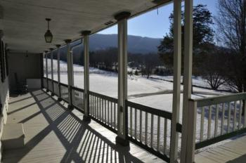 View of Massanutten Mountain from South Veranda