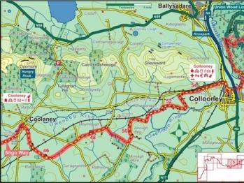 Sligo Way Map