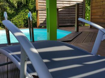 "Bungalow ""Barbade"" piscine privative"