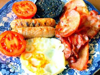 Full Scottish Breakfast at Carlton Seamill