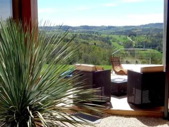 Villa Lascaux - Vue sur la vallée