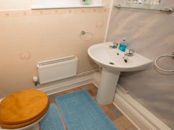 Double en suite room bathroom