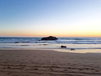Dusk at Taghazout Bay