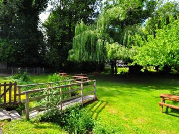 Garden leading to River Meon