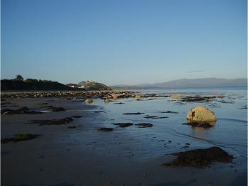 from Criccieth beach