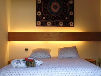Chambre lit double 160