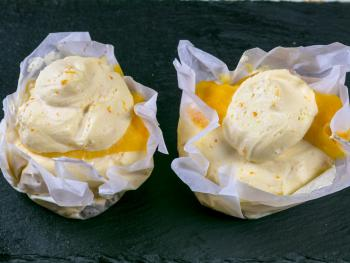 """The 3 Shoes Homemade Seville Orange Cheesecake by Lizzie the """"Baking Bird"""""""