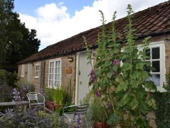 The outside of the cottages - to rear of pub