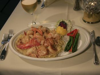 Our ever popular seafood pasta