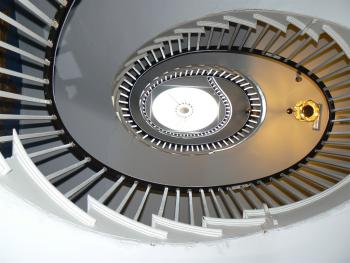 17th Century spiral staircase