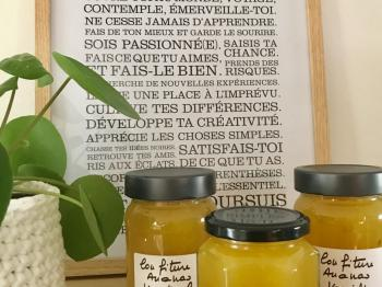 Confitures maison Ananas-Coco
