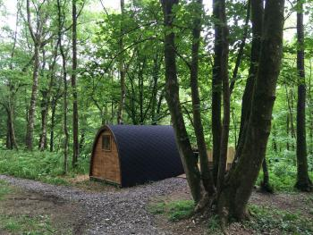Broomhills Farm River Eco Pods - Wooden Pod