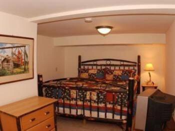 large king-size Adirondack style beds