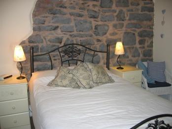 Stone walled Double En-Suite Bedroom