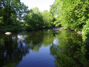 walk along the riverside