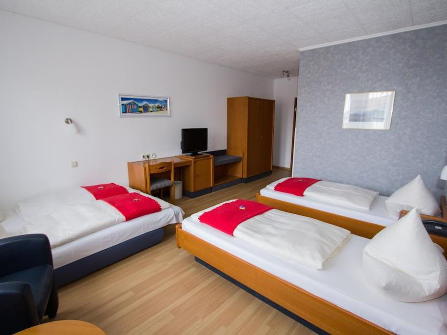 Dreibettzimmer-Komfort-Ensuite Dusche