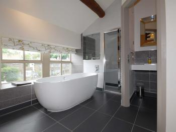 Free standing bath in our Wedding suite
