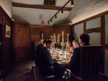 First floor private dining facilities for groups up to 24 people.