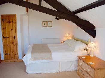 The Bedroom in Honeysuckle Cottage