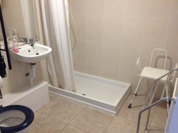 Disabled access shower room