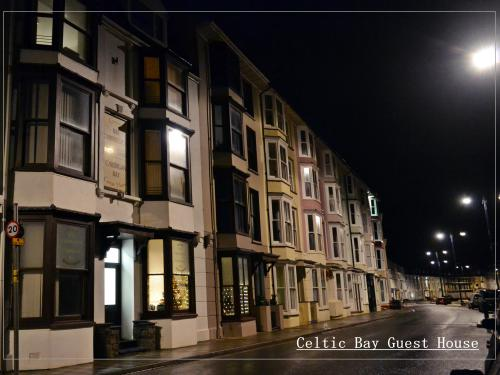Celtic Bay Guest House- Hotel Front-evening/night