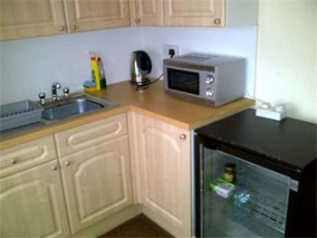 Kitchenette available to guests