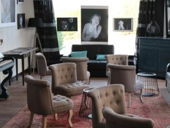 Espace Lounge - Au Clos Paillé - Hôtel Charme & Caractère - La Roche Posay - Cure Thermale - Hébergements
