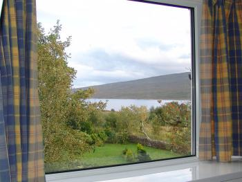 View from Room 9 of Loch Shin