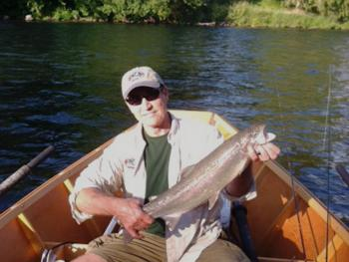 Steelhead fishing the McKenzie River