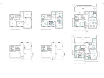 Rooms configuration - Plans