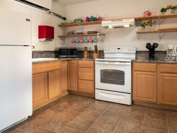 Rosewood Chalet kitchen.