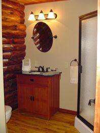 Wilds Room Bathroom at Bear Meadows