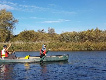 Canoeing from Salhouse