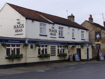 The Nags Head - The Nags Head,with parking at the front and rear of the building