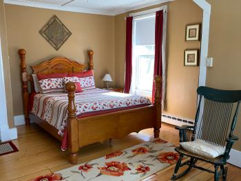Double room-Ensuite with Bath-Signature-Ocean View-The Tan Room