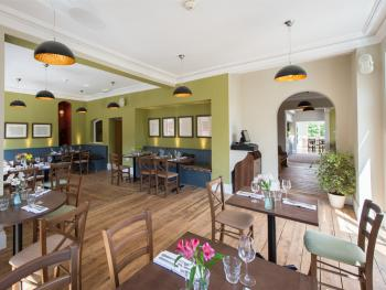 Dine in the spacious Terrace Room