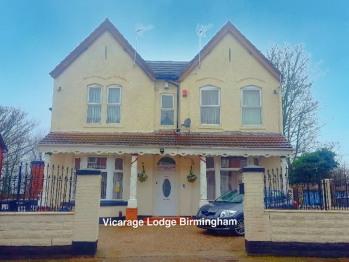 Vicarage Lodge Birmingham - Front Entrance