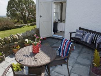The Garden Room Private Terrace with Sea & Garden  Views