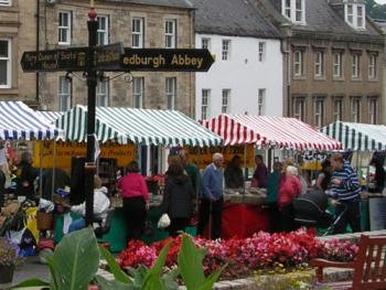 Regular Farmers Markets in the town centre - buy excellent local produce.