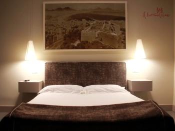 Matrimoniale-Lusso-Bagno in camera con doccia-Vista strada