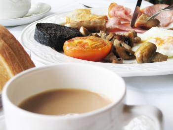 Full cooked Scottish breakfast