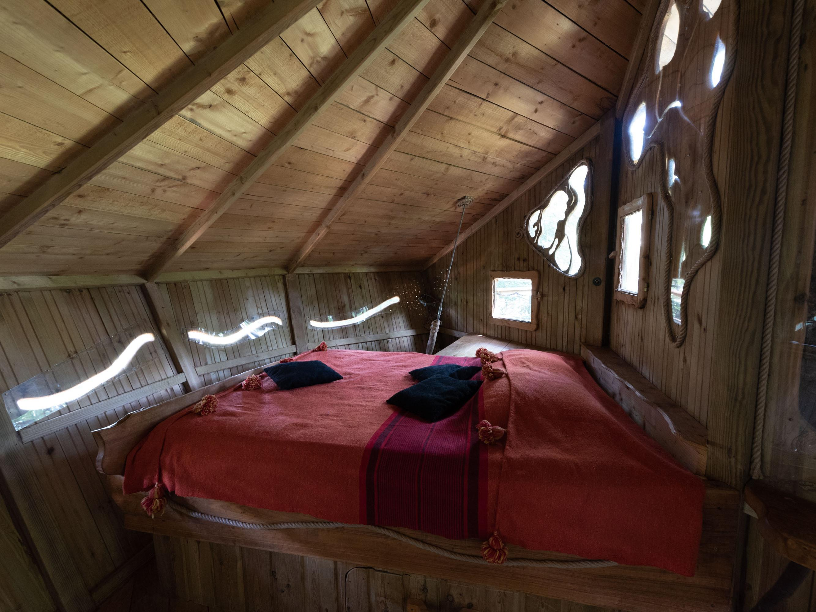Double-Standard-Salle de bain Commune-Terrasse-Cabane RENARD Aventure