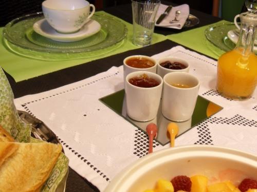 une idée du petit déjeuner au manoir du rouvre
