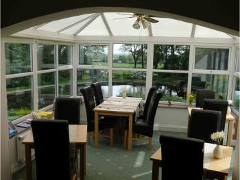 Conservatory/Breakfast Room over looking Duck pond