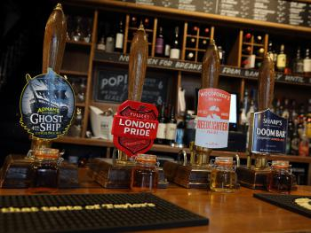 Real ale selection