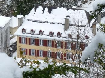 Résidence Gascogne - La résidence sous la neige