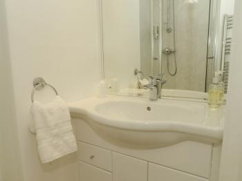 Ensuite room 4 with roomy power shower