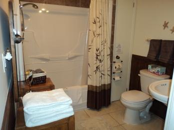 Salle de bain privée de la chambre Symphonie