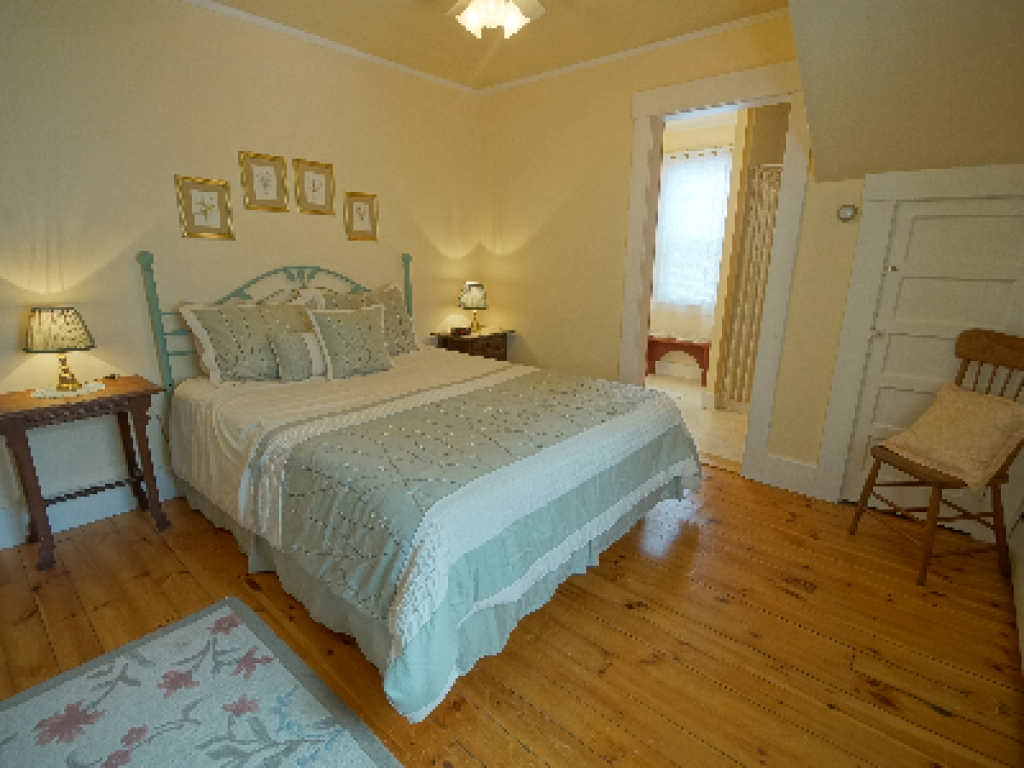 Queen-Ensuite with Shower-Deluxe-Countryside view-Birch Island Room #2 - Base Rate