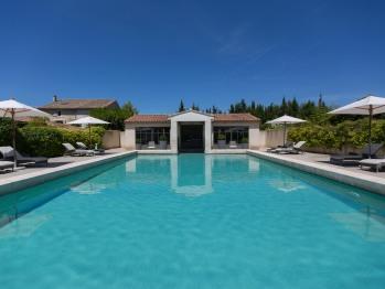 La piscine de La Maison de Line